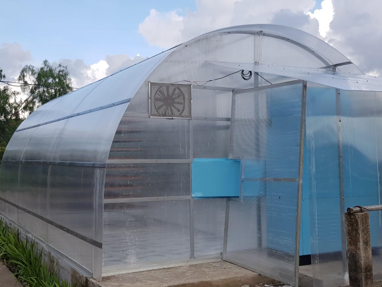 Nhà sấy solar-D