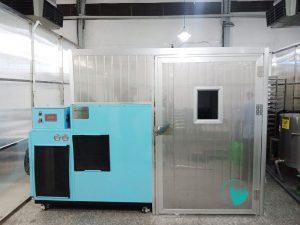 Máy sấy lạnh mới nhất của Hai Tấn lắp tại TP. HCM