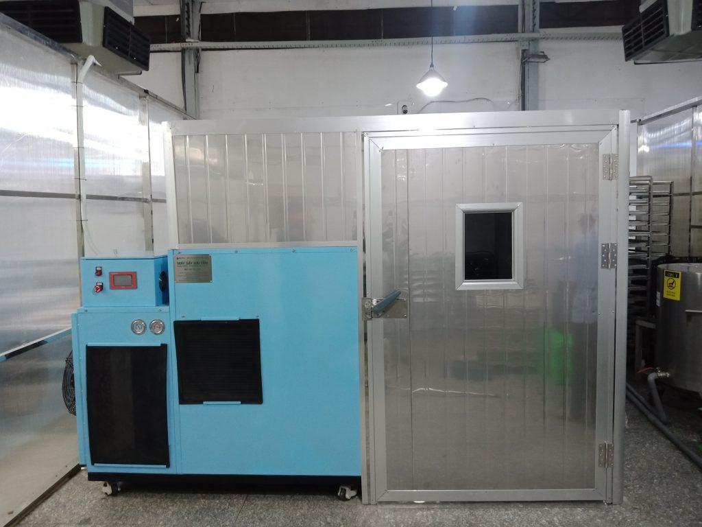 Lò sấy thực phẩm ở 1 cơ sở sản xuất tại TP.HCM