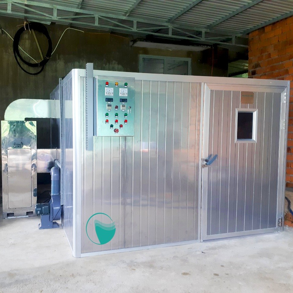 Công trình máy sấy sâm dây ở Măng Đen – Kontum