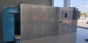 Máy sấy HTB04 sấy tôm khô lắp tại Cà Mau