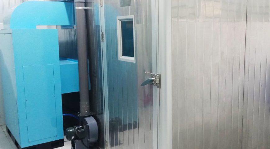 Công trình Máy sấy vỏ bưởi HTB02 lắp ở Đồng Tháp