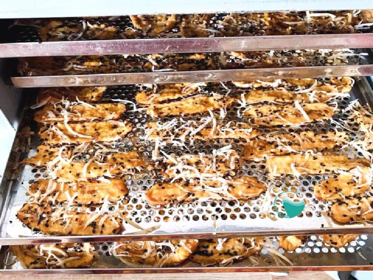 Chuối sấy từ máy sấy thực phẩm gia đình của Hai Tấn