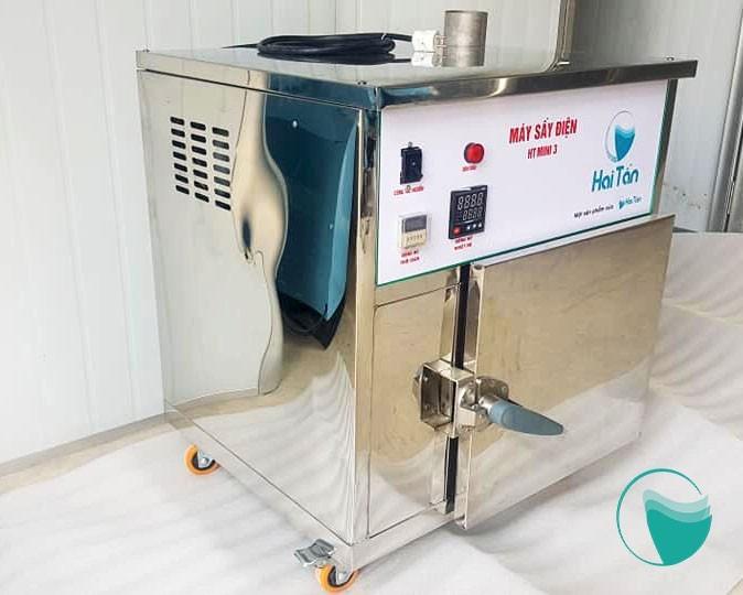 Máy sấy thực phẩm được làm từ chất liệu inox cao cấp