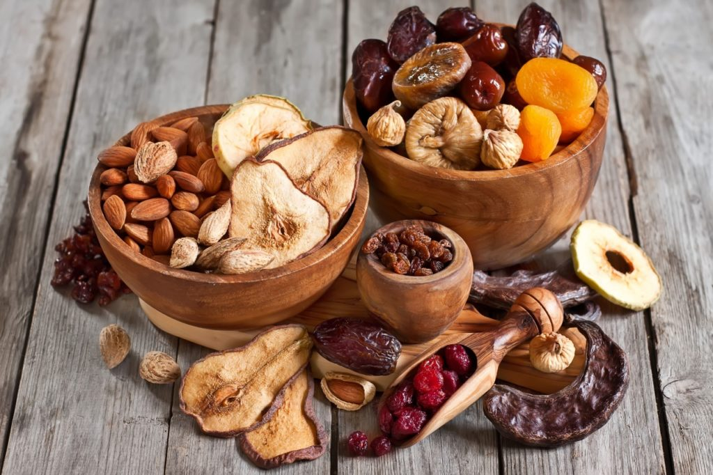 Thực phẩm sấy sử dụng tủ sấy nông sản bằng củi