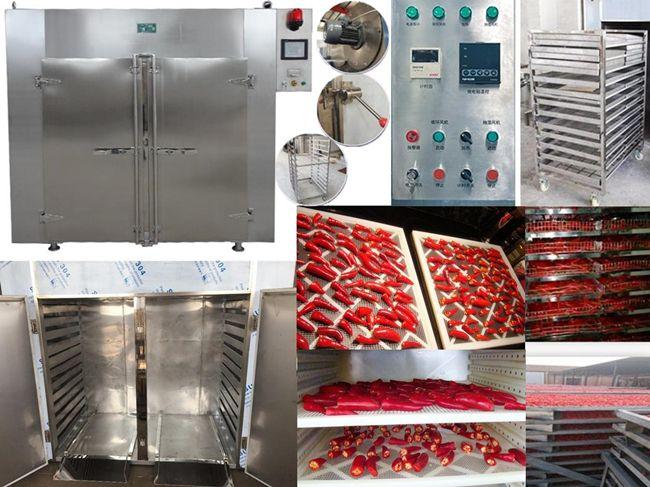 Các thiết kế tủ sấy công nghiệp của Máy Sấy Hai Tấn được tùy chỉnh để đáp ứng từng nhu cầu sử dụng riêng biệt