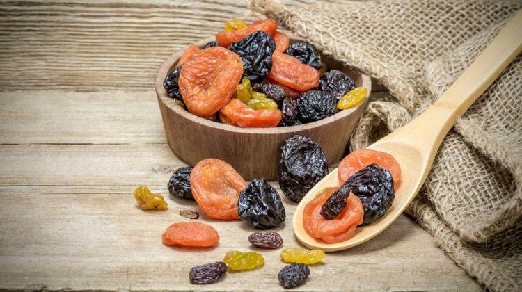 Thực phẩm sấy khô thậm chí không mất 1% giá trị dinh dưỡng