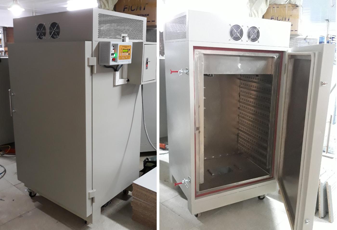 Máy sấy công nghiệp Hai Tấn - máy sấy hạt bí năng suất cao