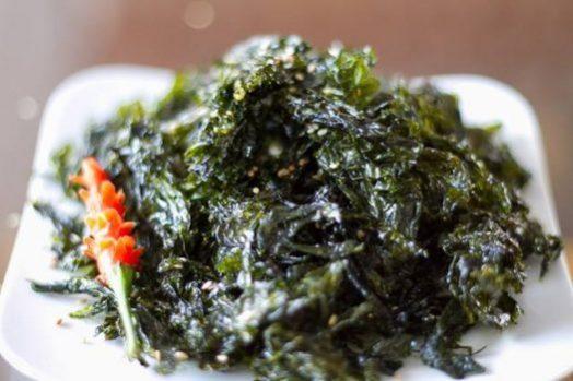 Rong biển sấy có nhiều dinh dưỡng - Máy sấy rong biển ăn liền