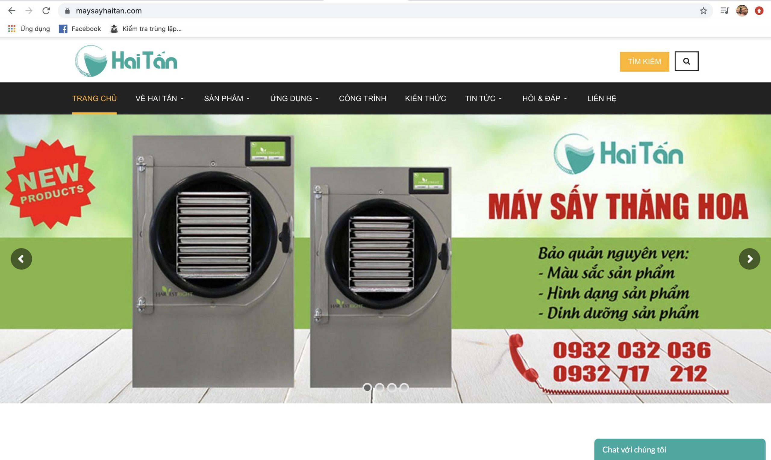 Maysayhaitan.com - địa chỉ cung cấp sản phẩm uy tín